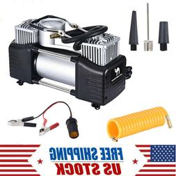 12V 150PSI & Double Cylinder Air Pump Compressor  Heavy Duty