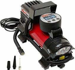 EPAuto 12V DC Portable Air Compressor Pump Digital Tire Infl