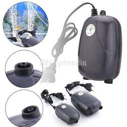 1PC US/EU Efficient Aquarium Fish Tank Pond Oxygen Air Pump