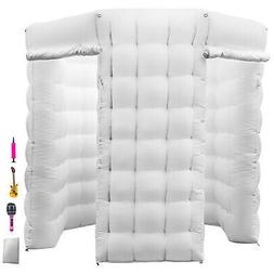 2.5M Inflatable LED Air Pump Photo Booth Tent Oxford Fabric