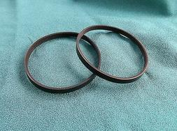 2 NEW DRIVE BELTS 4PJ373 MADE IN USA FOR AIR PUMP COMPRESSOR