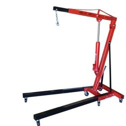 ESKALEX>>2 Ton Folding Manual Hydraulic Cherry Picker Engine