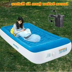 20 Inch Inflatable Air Mattress Bed with Built In Pump King