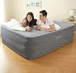 "Intex  22"" Queen Comfort Plush Elevated Dura-Beam Airbed"