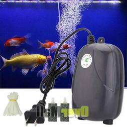 300 Gallon Adjustable Silent Air Pump Large Aquarium Fish Ta