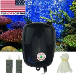 300 Gallon Silent Air Pump Aquarium Fish Tank Pump Hydroponi
