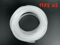 50 FT Aquarium Air Line Tubing for fish Tank Air Pumps. Sili