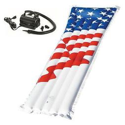Swimline 72-Inch American Flag Swimming Pool Raft Float with