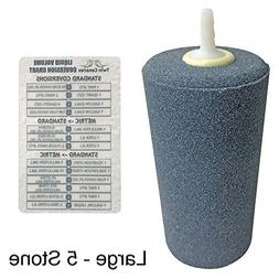 ACTIVE AQUA CYLINDER AIR STONE + Twin Canaries Chart - Large