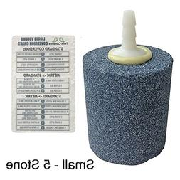 ACTIVE AQUA CYLINDER AIR STONE + Twin Canaries Chart - Small