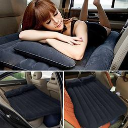 Air Bed, LOPEZ Self-drive Travel Air Mattress Rest Pillow In