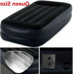Air bed Inflatable Air Mattress Blow Up Bed Queen Size Campi