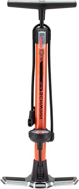 Schwinn Air Center Plus Floor Pump for Bicycles with Gauge F
