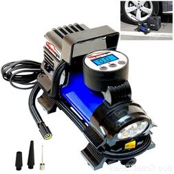Air Compressor Pump Digital Car Tire Inflator 150 PSI 12V 12