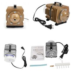 Air Pump 317-2378 GPH Aquarium Hydroponics Fish + Plastic Ho