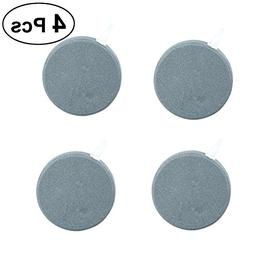 UEETEK 4Pcs Air Stone Bubble for Aquarium, Hydroponics Air B