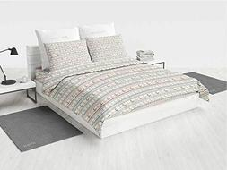 Anchor Quit Bedding Set Wavy Lines Little Dots and Stripes B