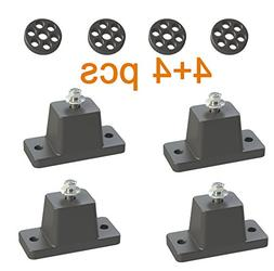 Anti-Vibration Shock Absorbing Rubber Mounting Bracket for D