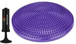 "Wacces Athletic Inflatable Twist Massage Balance Board, 13"","
