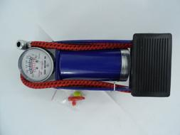 New Bicycle Bike Foot Operated Tire Pump Inflator Basketball