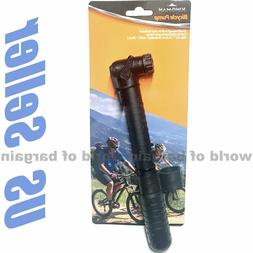 Bicycle Bike Tire HAND PUMP Schrader or Presta Valve Inflate