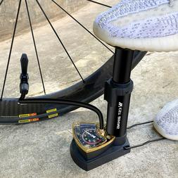 Bicycle Tire Foot Press Portable Inflator Air Inflator Ridin