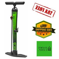 Bike Air Pump for Bicycle with Pressure Gauge Hand Ball Infl