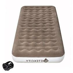 Etekcity Upgraded Twin Queen Size Camping Air Mattress Blow