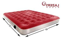 Lazery Sleep Camping Series Air Mattress Included Rechargeab