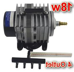 18w Commercial Air Pump 4 Outlet
