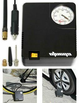 Compresor De Aire Coche Portatil Digital Pump Gauge 60PSI 12