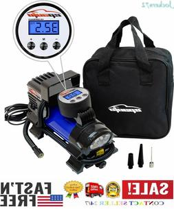 Compresor De Aire Coche Portatil Digital Pump Gauge 100PSI 1