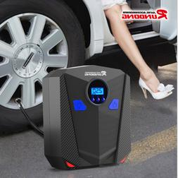 Digital Portable 12V 150psi Car Air Pump Compressor Van Tyre