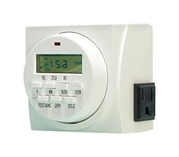 Dual Outlet Digital Timr