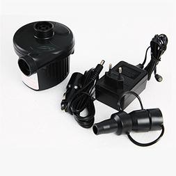 Dual-Use for Car&Home DC Electric Air Pump Inflator Blower