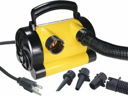 Electric 110 Air Pump Inflate Deflate Bed Mattress Pool Toys