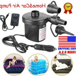 electric portable air pump for fast inflatables