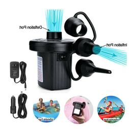 Electric Air Pump For Swimming Ring Pools Inflatables Deflat