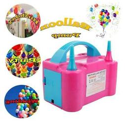 electric balloon inflator air pump 2 nozzle