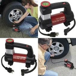 Electric Inflator 140 PSI Air Pump Compressor Sport Balls Bi