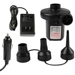 Electric Portable Pumps Air 110V AC/12V DC Quick-Fill For In