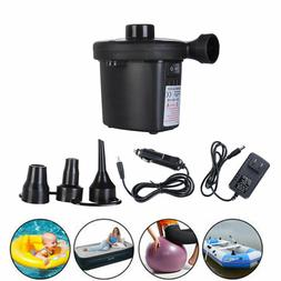Micord 220V-Electric Air Pump Inflator Deflate with 3 Nozzles for Air Bed Boat Raft Mattress