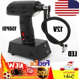 Electric Portable Tire Inflator 12 V Car Tyre Air Pump Compr