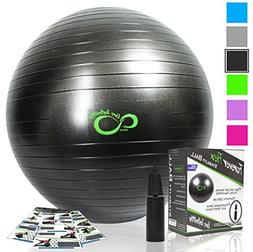 Exercise Ball -Professional Grade Exercise Equipment Anti Bu
