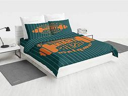 Fitness camo Bedding Set Winners Train Losers Complain Quote