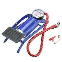 Foot Operated Air Pump For Ball Bike Bicycle Tire Inflator I