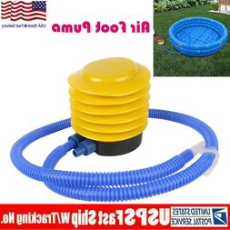 Foot Operated Air Pump Toy Balloon Inflator Yoga Ball Plasti