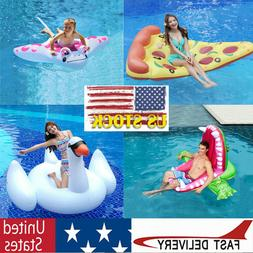 Giant Swimming Ring Floating Row Swan Crocodile Suitable For