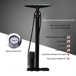 Hand Air Pump Foot Bicycle Bike Tire Basketball Football Soc
