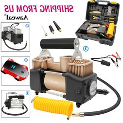 Heavy Duty 12V Car Tyre Auto Tire Inflator Pump Air Compress